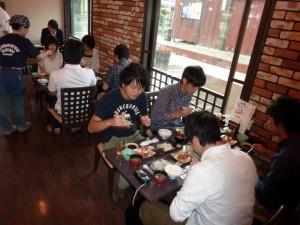 慶應義塾大学経済学部御一行様 朝食1